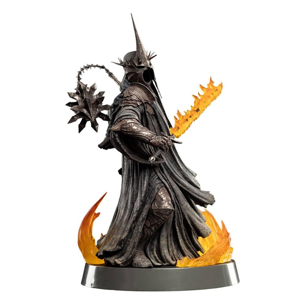 Le seigneur des anneaux figures of fandom statuette the witch king of angmar weta figurine 1