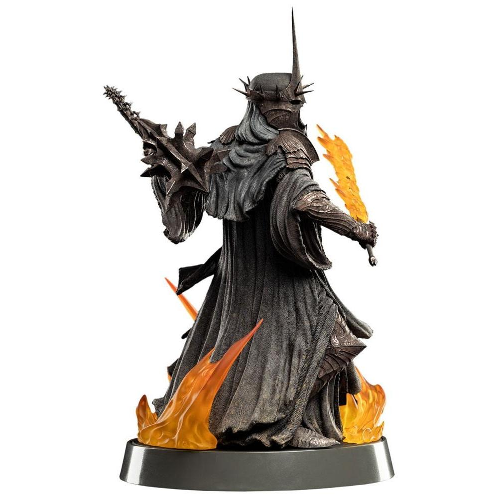 Le seigneur des anneaux figures of fandom statuette the witch king of angmar weta figurine 2