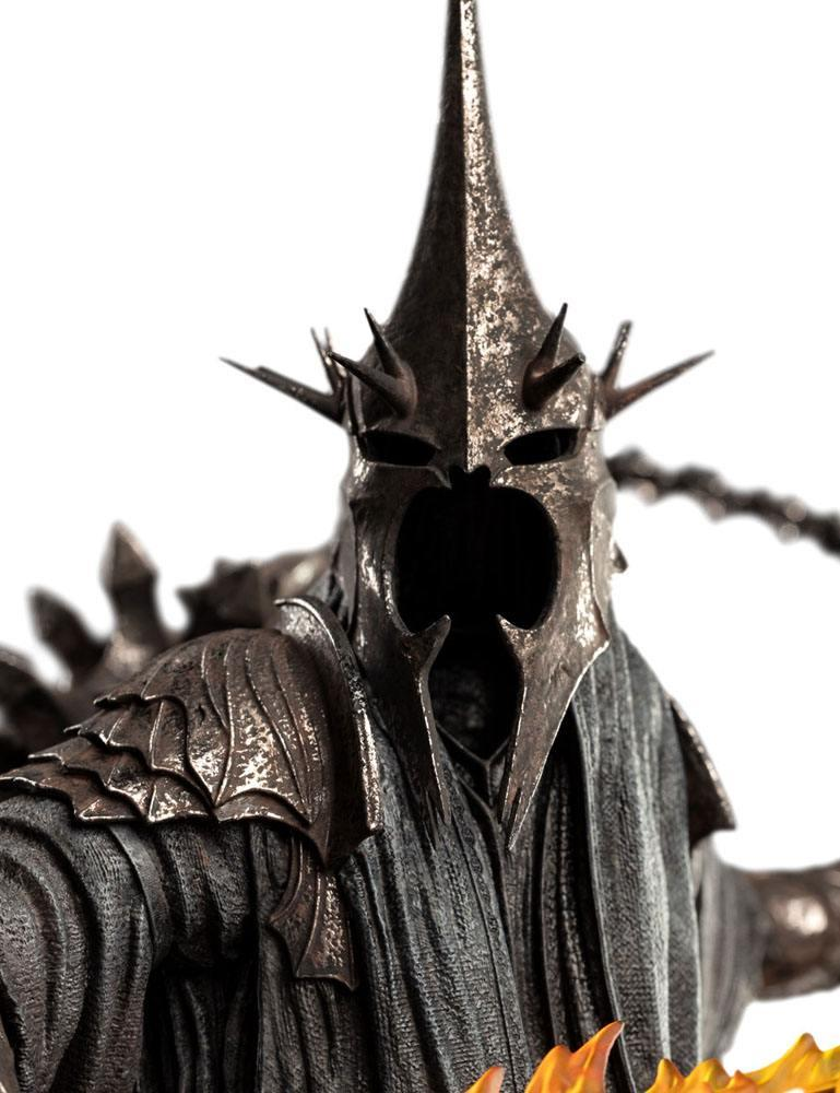 Le seigneur des anneaux figures of fandom statuette the witch king of angmar weta figurine 4