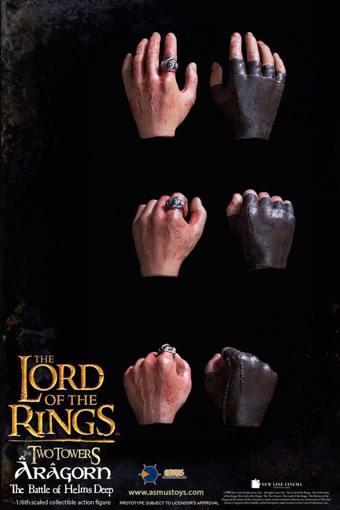 Le seigneur des anneaux figurine 16 aragorn at helm s deep 30 cm 9