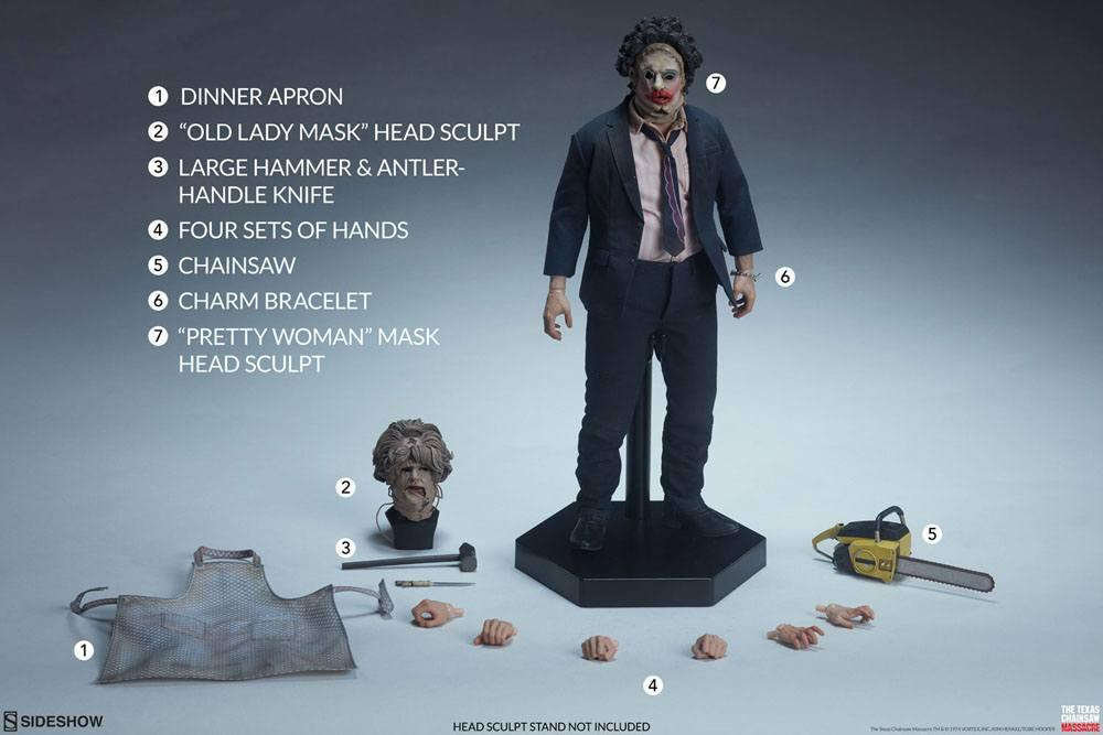 Leatherface horror figurine jouet suukoo tos collection 1