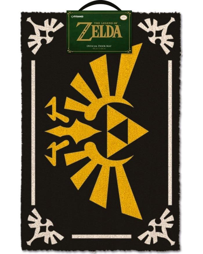 Legend of zelda paillasson triforce 40 x 60 cm 1