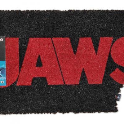 Les Dents de la mer paillasson Logo Jaws 43 x 72 cm