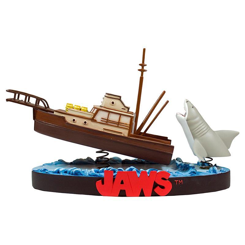 Les dents de la mer statue resine orca attack jaws 4