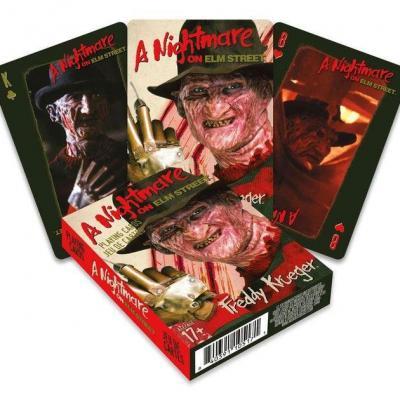Les Griffes de la Nuit jeu de cartes à jouer Freddy
