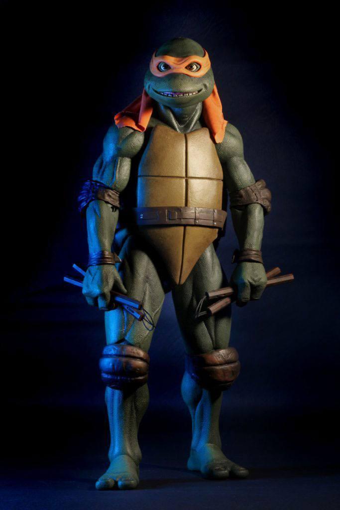 Les tortues ninja figurine 14 michelangelo 42 cm 2