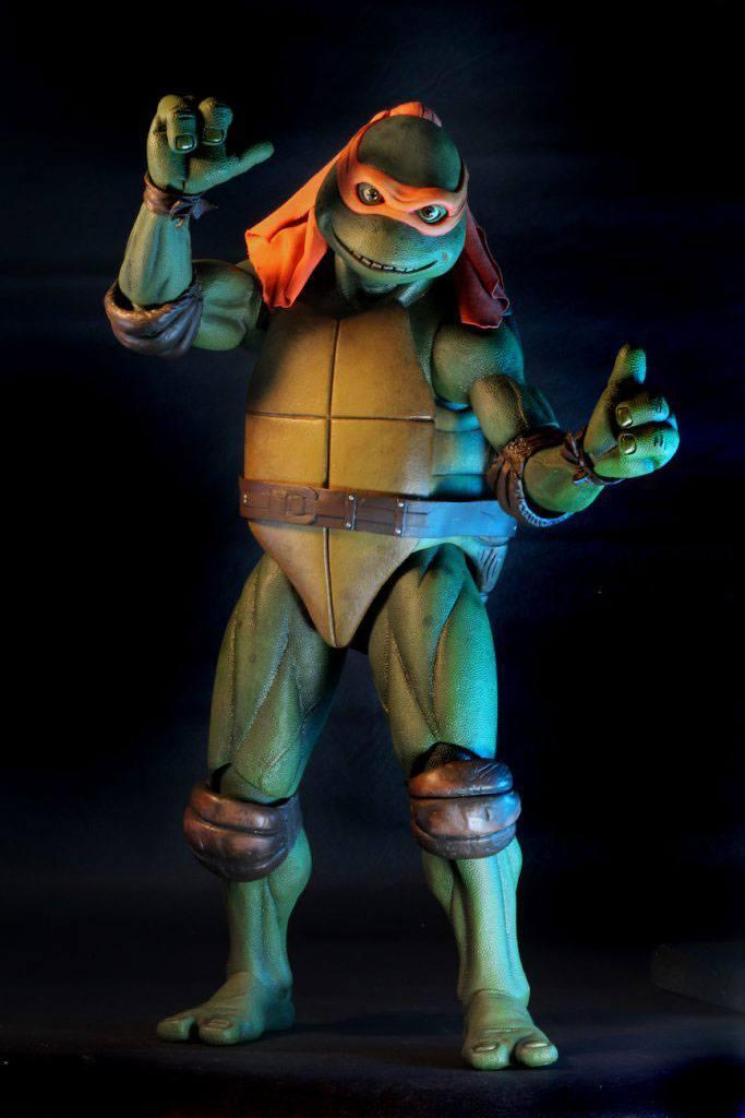 Les tortues ninja figurine 14 michelangelo 42 cm 5