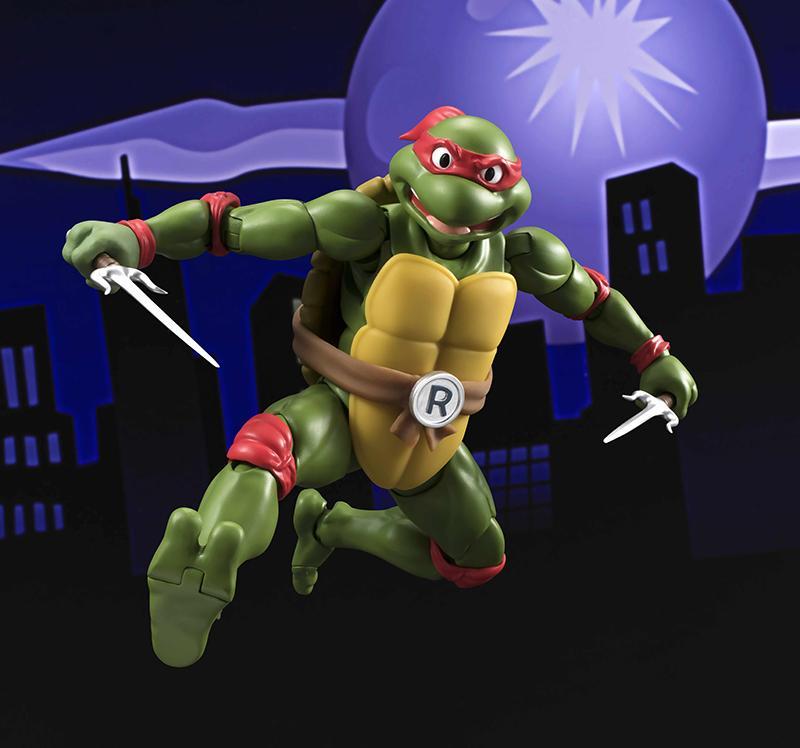 Les tortues ninja figurine raphael 15cm figuarts 1