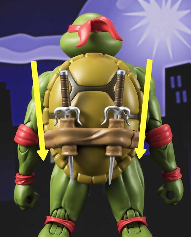 Les tortues ninja figurine raphael 15cm figuarts 2