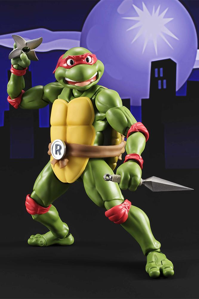 Les tortues ninja figurine raphael 15cm figuarts 3