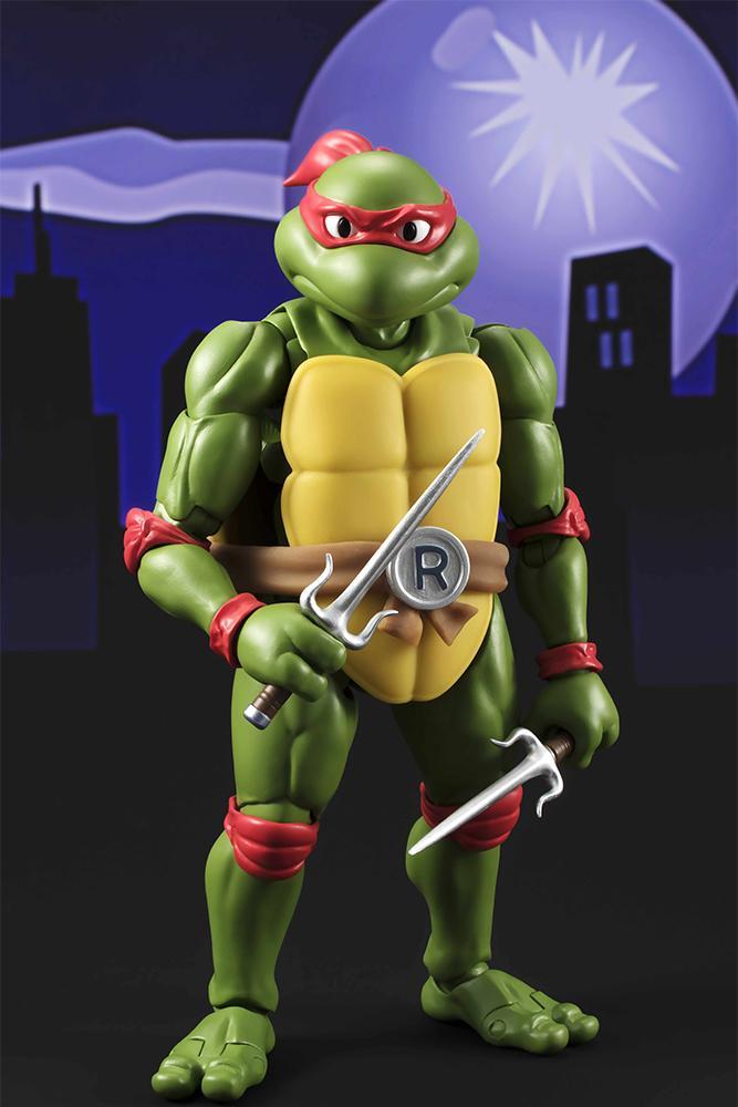 Les tortues ninja figurine raphael 15cm figuarts 4