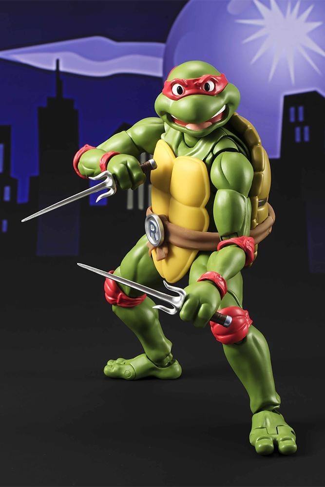 Les tortues ninja figurine raphael 15cm figuarts 5