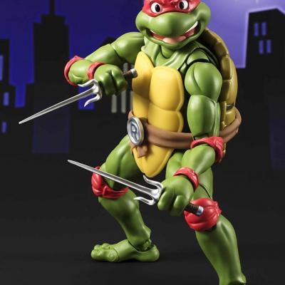 Les Tortues ninja figurine Raphael 15cm Figuarts Tamashii Nation