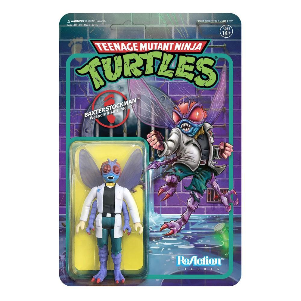 Les tortues ninja figurine reaction baxter stockman 10 cm super7