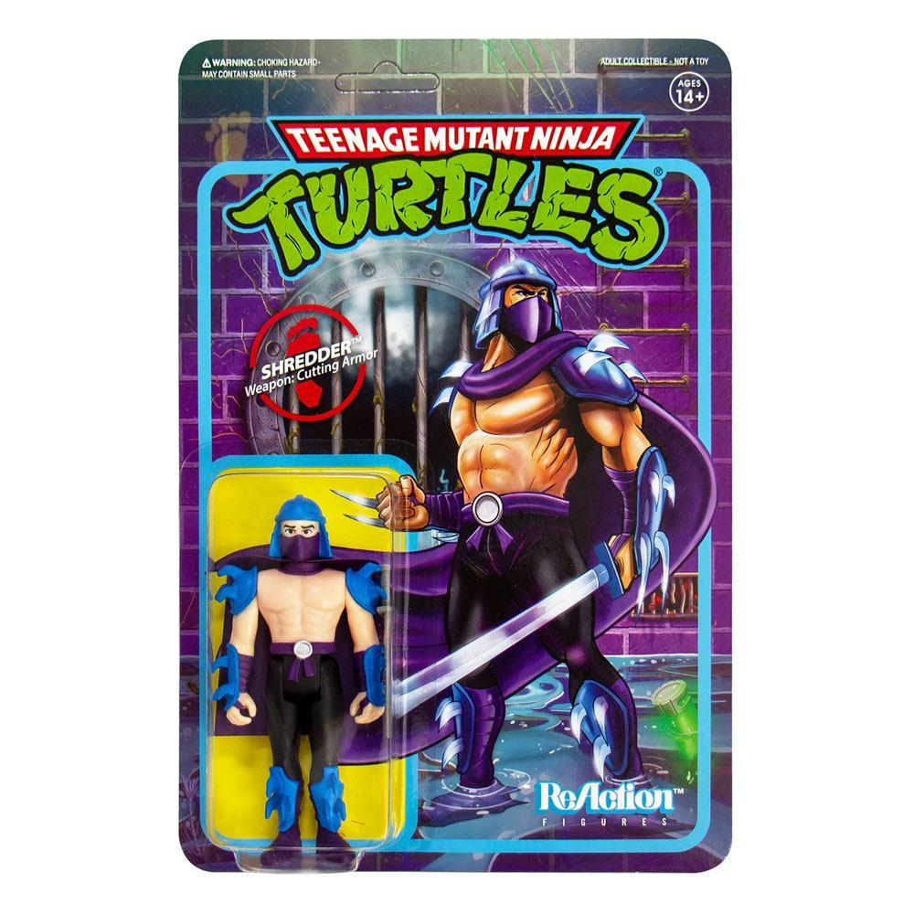 Les tortues ninja figurine reaction shredder 10 cm super7 1