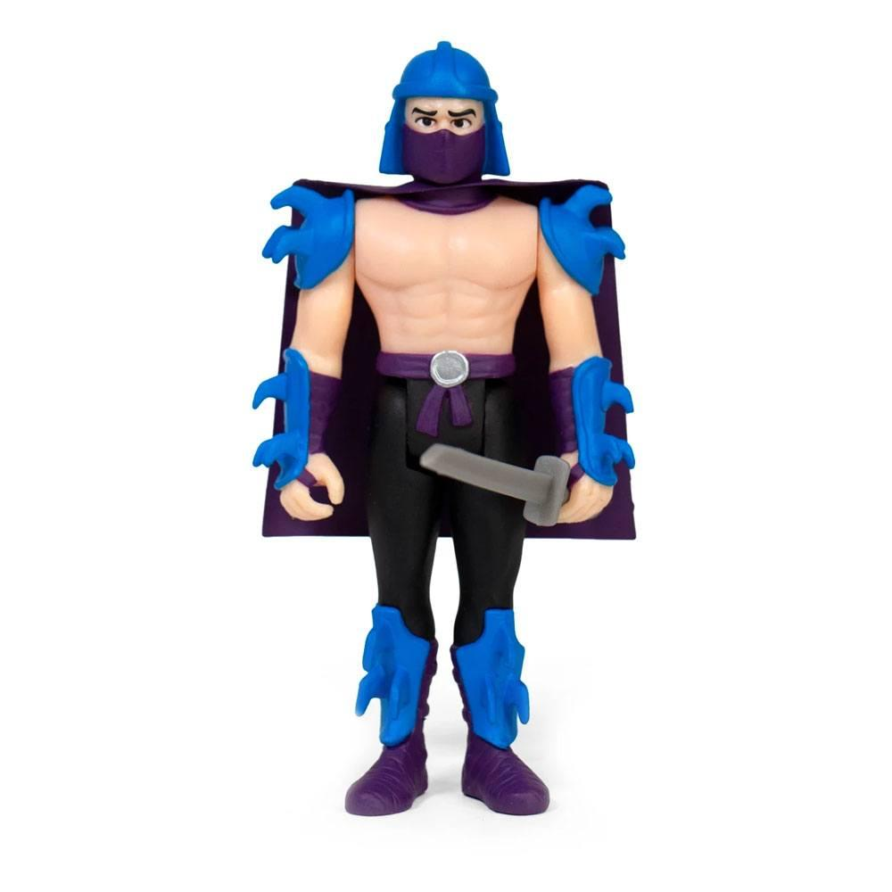 Les tortues ninja figurine reaction shredder 10 cm super7 2