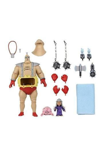 Les tortues ninja figurine ultimate krang s android body 23 cm neca 2