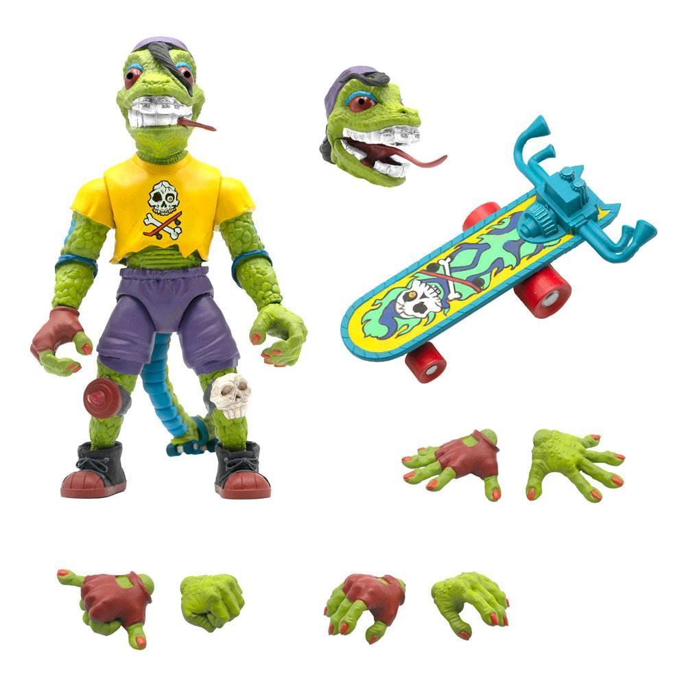 Les tortues ninja figurine ultimates mondo gecko 18 cm 1
