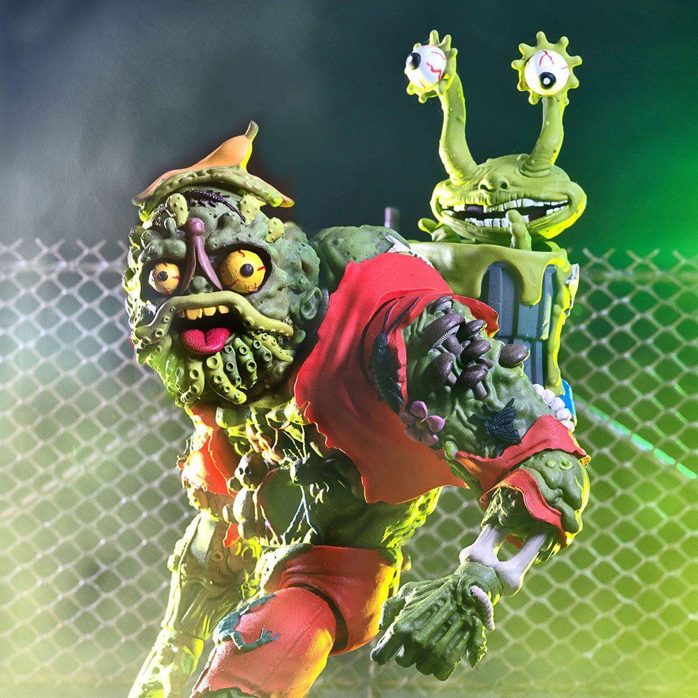 Les tortues ninja figurine ultimates muckman joe eyeball 18 cm super7 2