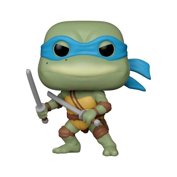 Les tortues ninja pop television vinyl figurine leonardo 9 cm suukoo toys