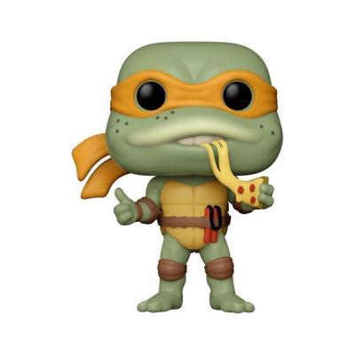 Les tortues ninja pop television vinyl figurine michelangelo 9 cm suukoo toys