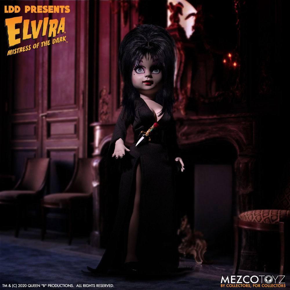 Living dead dolls poupee elvira 25 cm 3