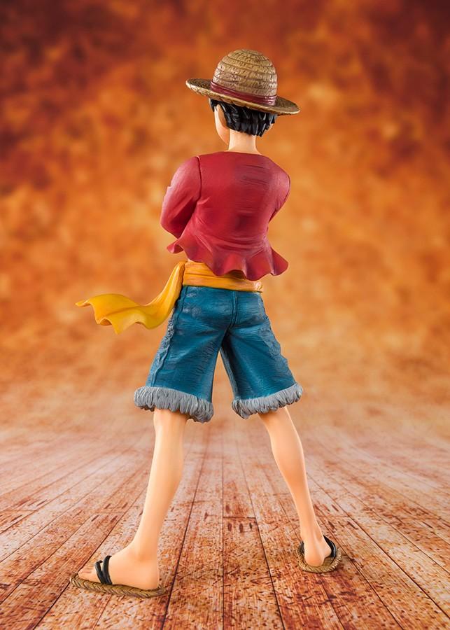 Luffy straw hat figuarts zero 2