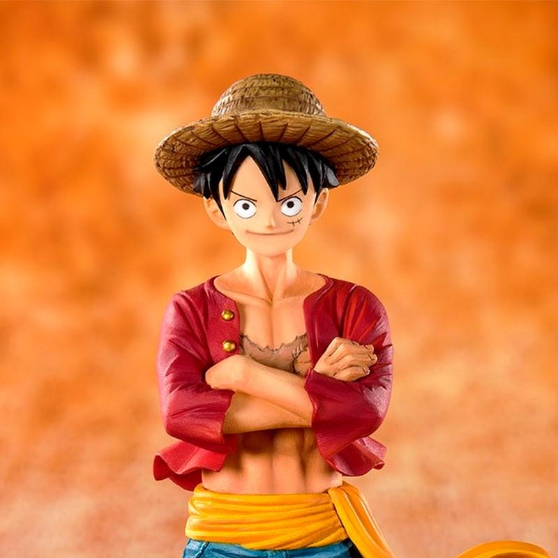 Luffy straw hat figuarts zero 3 1