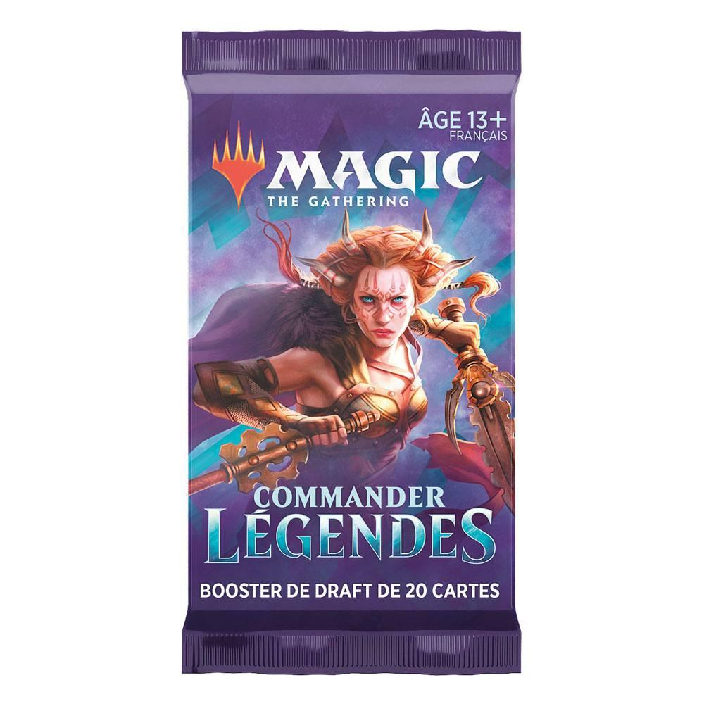 Magic the gathering commander legendes presentoir boosters de draft 1
