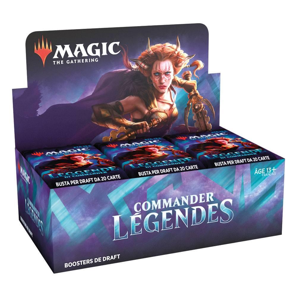 Magic the gathering commander legendes presentoir boosters de draft 2