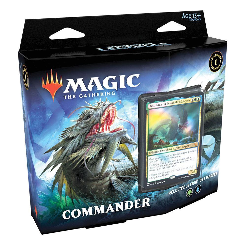 Magic the gathering commander legendes presentoir decks commander 1