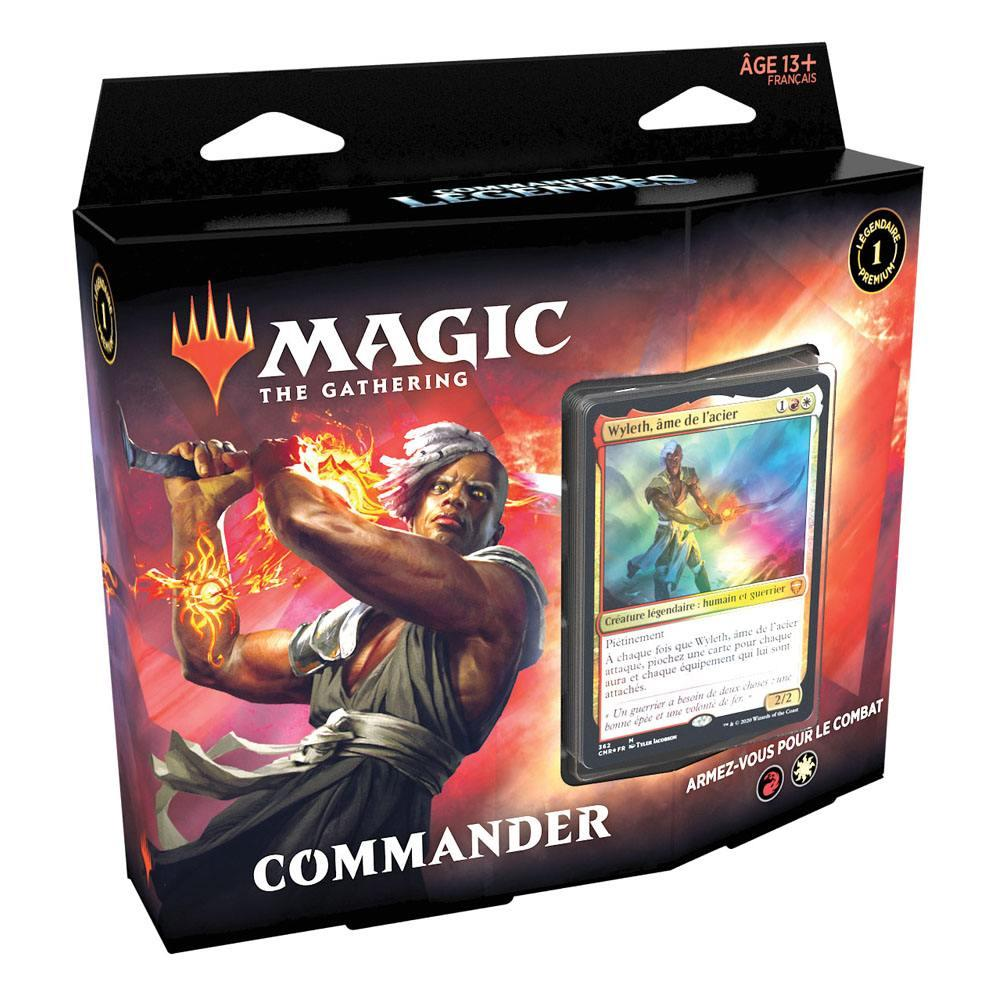 Magic the gathering commander legendes presentoir decks commander 2