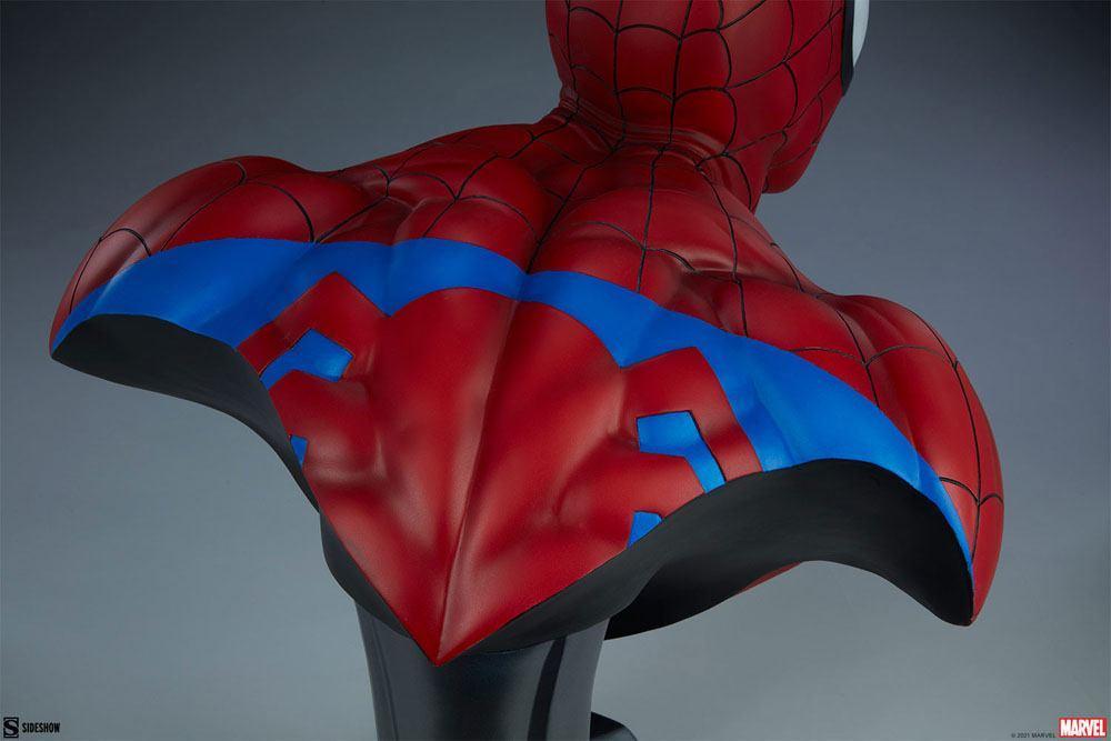 Marvel buste spider man 58cm sdeshow suukoo toys 12