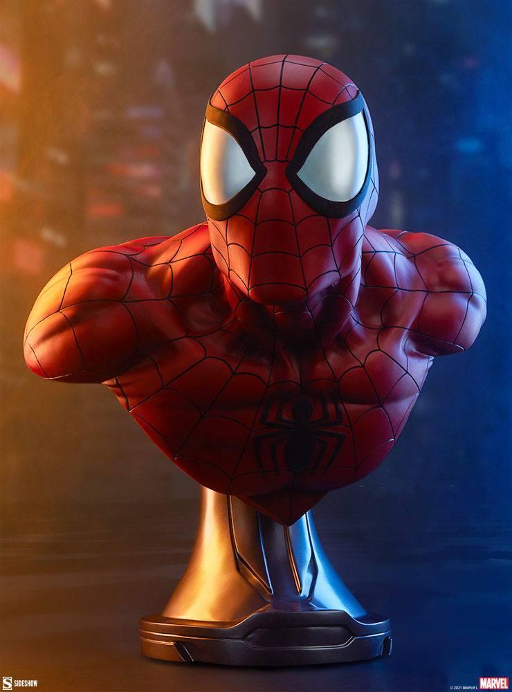 Marvel buste spider man 58cm sdeshow suukoo toys 2