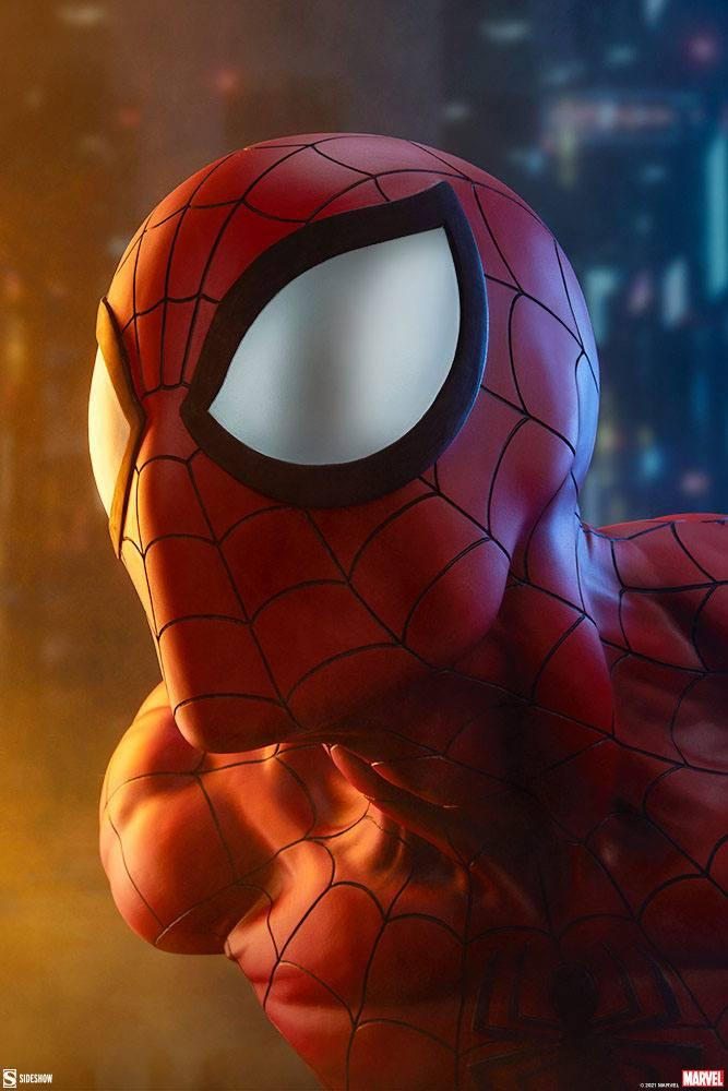 Marvel buste spider man 58cm sdeshow suukoo toys 3