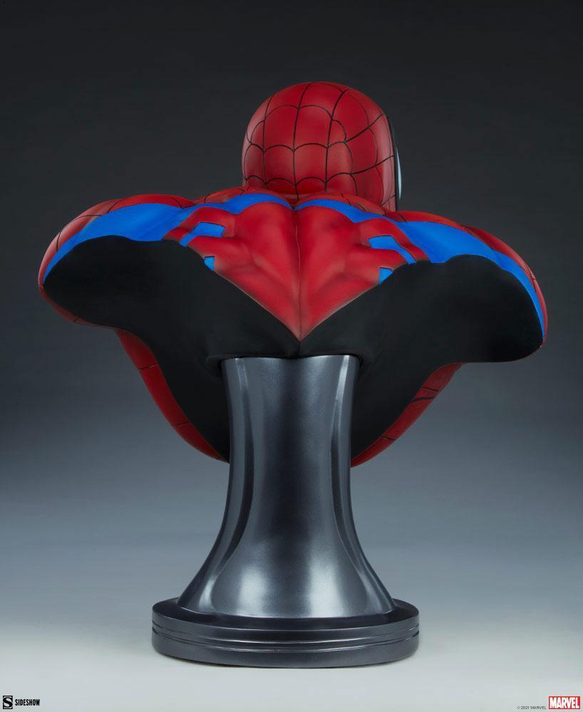 Marvel buste spider man 58cm sdeshow suukoo toys 6