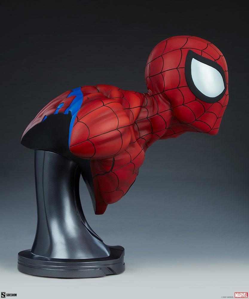 Marvel buste spider man 58cm sdeshow suukoo toys 7