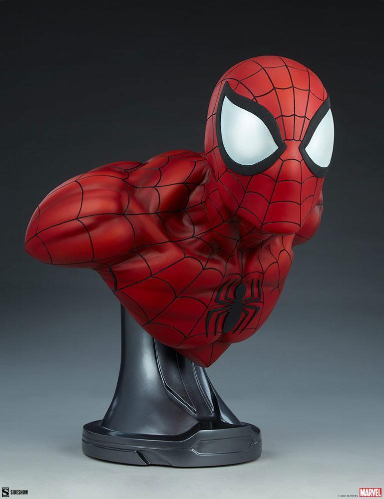 Marvel buste spider man 58cm sdeshow suukoo toys 8