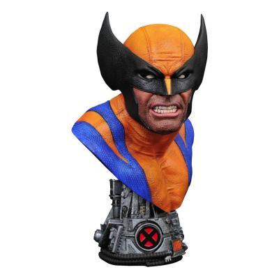 Marvel comics legends in 3d buste 12 wolverine 25 cm
