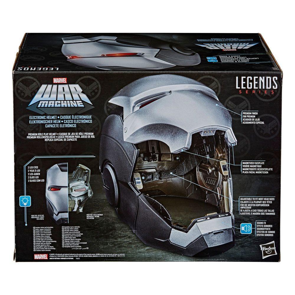Marvel legends series casque electronique war machine 2