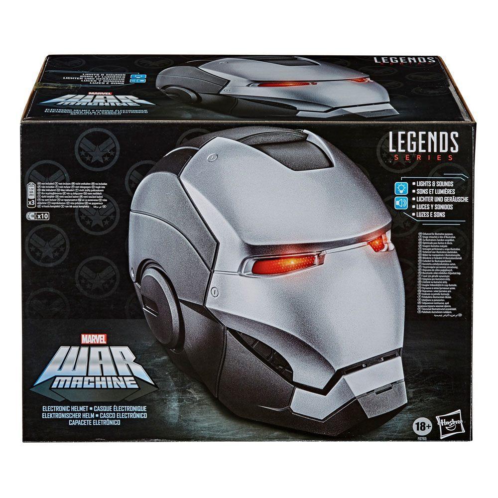 Marvel legends series casque electronique war machine 3