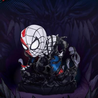 Marvel Maximum Venom Collection figurine Mini Egg Attack Venomized Spider-Man 8 cm