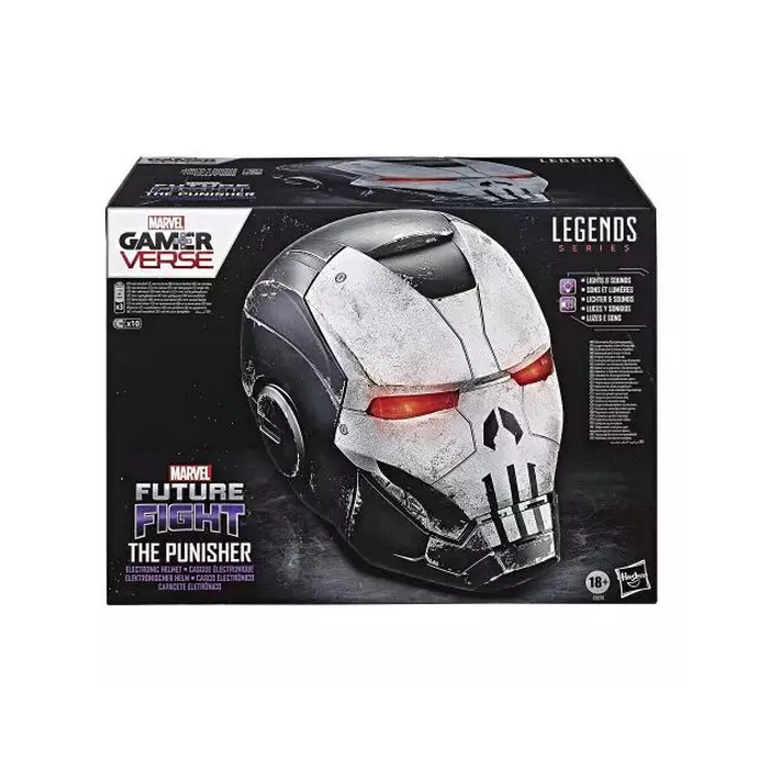 Marvel the punisher replique casque electronique led legends series punisher war machine