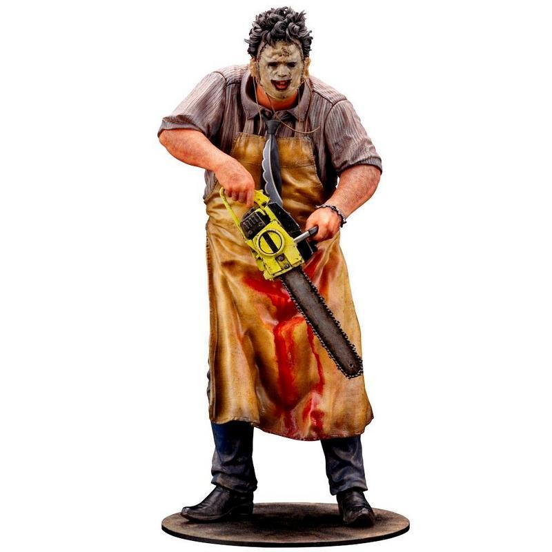 Massacre a la tronconneuse artfx statuette leatherface suukoo toys figurine 1