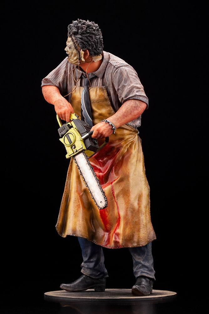 Massacre a la tronconneuse artfx statuette leatherface suukoo toys figurine 11
