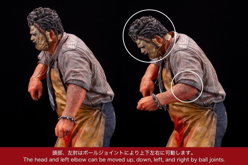 Massacre a la tronconneuse artfx statuette leatherface suukoo toys figurine 4