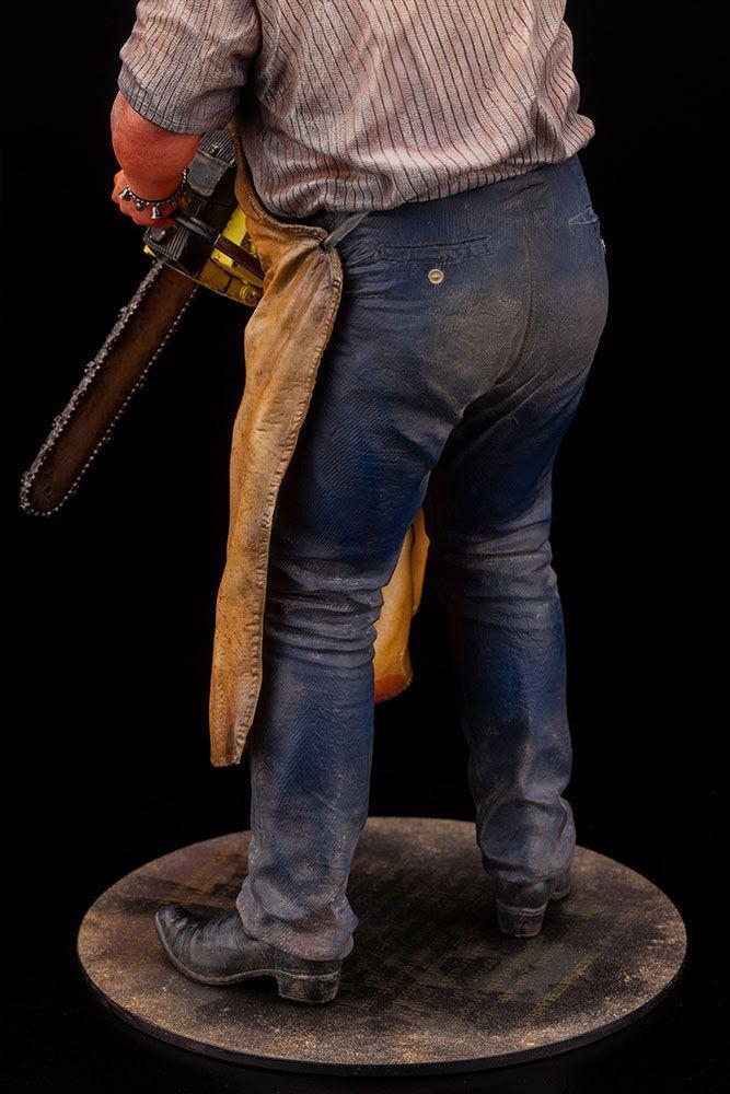 Massacre a la tronconneuse artfx statuette leatherface suukoo toys figurine 5