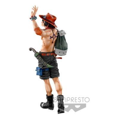One Piece The Portgas D. Ace The Brush statuette BWFC 3 Super Master Stars Piece 30 cm