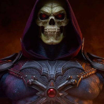 Masters of the universe buste skeletor legends 71cm suukoo toys fr 9