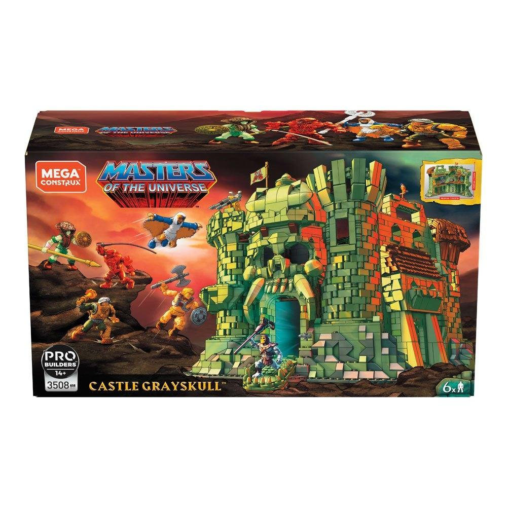 Masters of the universe mega construx probuilders castle grayskull 1